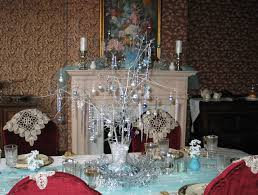 Christmas Decorations Ice Blue by Carolinajewel U0027s Table My Winter Wonderland Barely Blue
