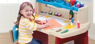 Step2 Deluxe Art Desk With Splat Mat Step 2 Art Desk Enthralling Spray Paint Plastic Step 10 Version 2