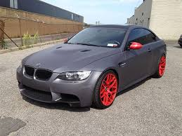 matte grey bmw bmw matte gray wrap g dezine wraps deer park ny us 139415