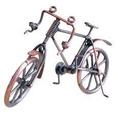 shop antique bike model metal craft home decoration bicycle