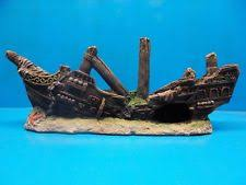 polyresin ship aquarium decorations ebay