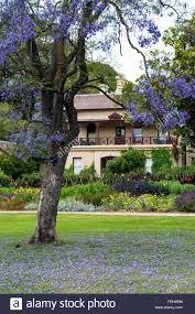 the royal botanic gardens melbourne victoria australia stock