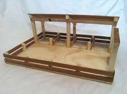 Free Wooden Toy Barn Plans by