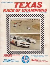 texas world speedway the motor racing programme covers project