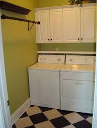Utilitysinkmakeoverwithfauxtinbacksplash Home  Laundry - Utility sink backsplash