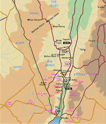 negev desert map welcome to eilat guide