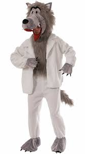 Wolf Costume Men U0027s Sheep Impersonator Costume Big Bad Wolf Mask Wolf In