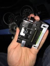mitsubishi lancer es i broke my speech button on the fuse
