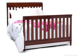 Convertible Sleigh Bed Crib by Delta Crib Mattress Size Creative Ideas Of Baby Cribs
