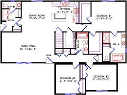 ranch floor plans ranch