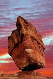 balanced rock in the garden of gods colorado springs gardens