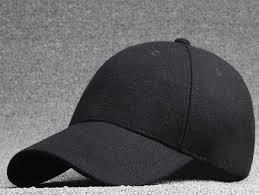 bulk hats 25pcs black wool felt baseball hat for winter 2017 new