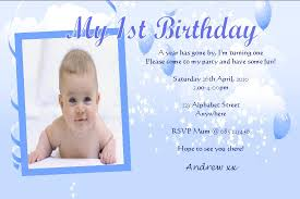 first birthday invitation card design choice image invitation