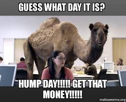 Make Money From Memes - guess what day it is hump day get that money hump day
