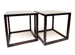 Large Side Table Large Cube Side Table Contemporary Contract