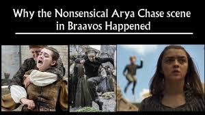 Arya Meme - why the nonsensical arya chase in braavos happened in game of