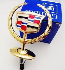 cadillac ornament gold plated 24k automotive