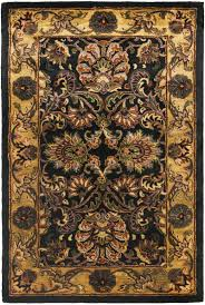 Black And Gold Rug Blue And Gold Area Rugs Roselawnlutheran