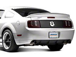 Matte Black 2005 Mustang Mmd Mustang Trunk Emblem Surround Matte Black 71337 99 05 09