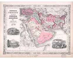 Persia Map Old Maps Of Asia Collection Of Detailed Old Maps Of Asia