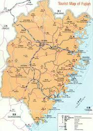 Map China Fujian Tourist Map China Fujian Tourist Map Fujian Travel Guide