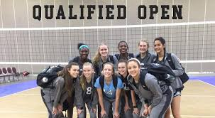 northern lights volleyball mn 16 black earns an open bid at northern lights triangle volleyball club