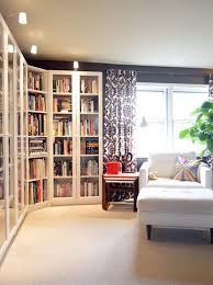 White Corner Bookcase Ikea 30 Genius Ikea Billy Hacks For Your Inspiration Glass Doors