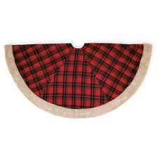 plaid tree skirt buffalo plaid tree skirt wayfair
