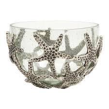starfish platter mudpie starfish glass serving bowl magpies gifts