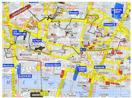 London Maps Walk London Map Walking Map London England