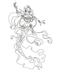 winx club mermaid bloom coloring page cartoons mermaid coloring