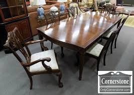 American Drew Dining Room Furniture American Drew Set Of 6 Mahogany Chippendale And Claw Foot