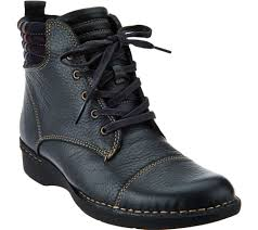 awesome motorcycle boots clarks leather ankle boots with flannel detail whistle bea