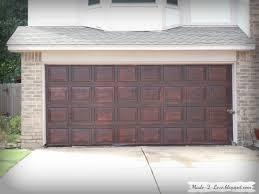 Faux Barn Doors by Made To Love Diy Faux Wooden Garage Door