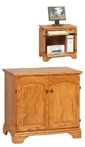 Amish Computer Armoire Amish Miniature Computer Armoire