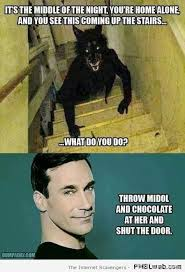 Chocolate Memes - 26 throw midol and chocolate at her meme pmslweb
