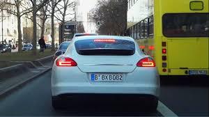 Porsche Panamera Back - porsche panamera strange blinking of tail rear brake lights