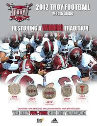 2012 troy football media guide by troy university athletics issuu