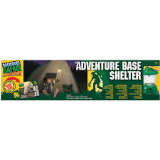 backyard safari adventure base shelter with lantern walmart com