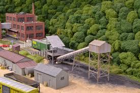 Railroad House Plans Model Railroad Coal Mine Examples Tipples Truck Dumps And Prep