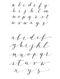 hand lettering alphabet calligraphy 1000 ideas about hand