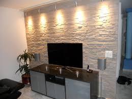 steinwand wohnzimmer platten wohndesign geräumiges moderne dekoration steine fliesen wand