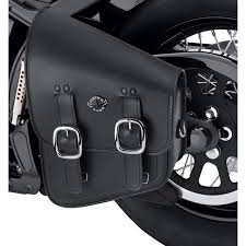 harley davidson softail fatboy flstn motorcycle saddlebags swing arm