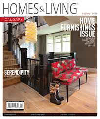 homes u0026 living calgary august september 2014 issue by homes