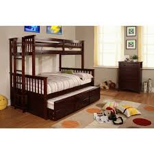 Twin Over Full Bunk Beds Caden Nautical Blue White Twin Over Full - Full and twin bunk bed