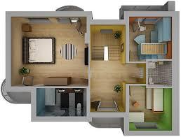3d home interiors home interior floor plan 02 3d model cgtrader