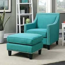 navy blue chair and ottoman blue chair with ottoman 2 piece accent chair ottoman set in blue