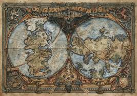 Got Map Everything Westeros And Essos Map Game Of Thrones By Francesca
