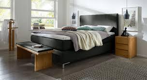 Schlafzimmer In Anthrazit Boxspringbett In Z B 200x220 Cm Günstig Kaufen Paguera