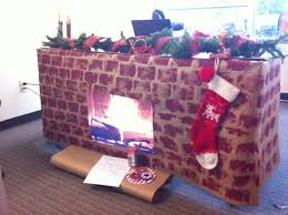 christmas desk decoration ideas 167 best cubicle christmas office decorating contest images on